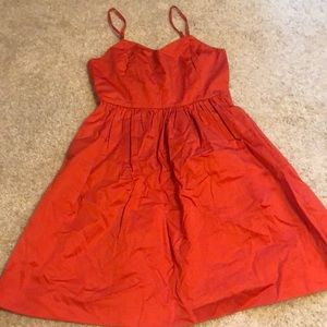 Red Skater / Fit and Flare Dress